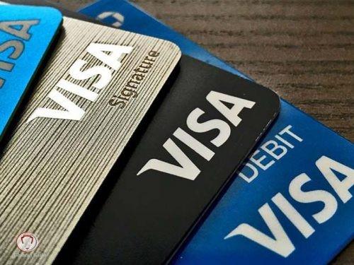 انواع ویزا کارت